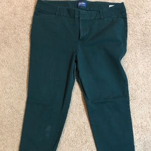 Crop slacks